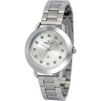 ... Relógio Feminino Backer 3983145F - Unissex-Prata 05acd50f51