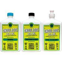 Kit Ondulados Lola Cosmetics Shampoo + Condicionador + Creme De Pentear - Unissex-Incolor