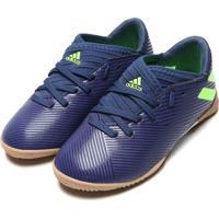 Chuteira Adidas Performance Menino Nmz Messi 19 3 In Jr Azul
