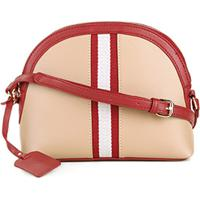Bolsa Shoestock Mini Bag Crossbody Gorgorão Feminina - Feminino-Bege