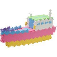 Blocos De Montar - Plus-Plus Mini Pastel 480 Peças