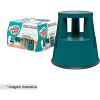 Escada Mã³Vel- Verde Escuro- 42Xã˜43Cm- Flash Limpeuro Homeware