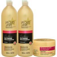 Kit De Shampoo & Condicionador Extreme Rescue & Repair + Mã¡Sjacques Janine