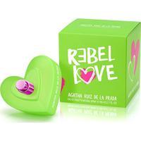 Perfume Feminino Rebel Love Agatha Ruiz De La Prada Eau De Toilette 80Ml - Feminino-Incolor