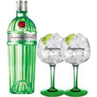 Gin Tanqueray N Ten 750Ml + 02 Tacas