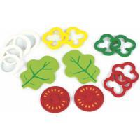 Brincando De Comidinhas New Art - Kit Salada - Madeira - 406 - Verde