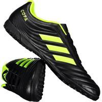 Chuteira Adidas Copa 19.4 Tf Society Preta