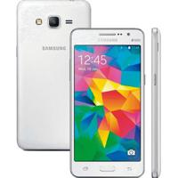 Smartphone Samsung Galaxy Gran Prime Sm-G531H/Dl - Branco - 8Gb - 3G - 8Mp - 5¨- Android 5.1