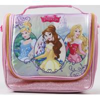 Lancheira Térmica Escolar Infantil Princesas Rosa - Único