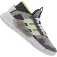Tênis Adidas Bball 90S - Masculino - Cinza Cla/Branco