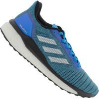 Tênis Adidas Solar Drive Boost - Masculino - Azul/Branco