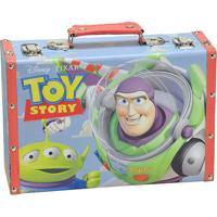Maleta Toy Storyâ®- Azul Claro & Vermelha- 20X30X10Cmmabruk