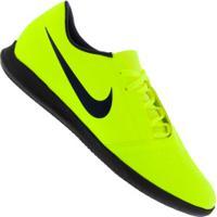 Chuteira Futsal Nike Phantom Venom Club Ic - Adulto - Verde Cla/Azul Esc