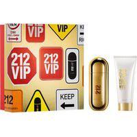 Kit Perfume Carolina Herrera 212 Vip Eau De Parfum Feminino 80Ml + Hidratante Corporal 100Ml Único