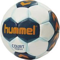 Bola Handebol Hummel Court Trophy H1 - Unissex-Branco