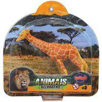 Brinquedo Miniatura Animais Da Selva Toyng Girafa 43834