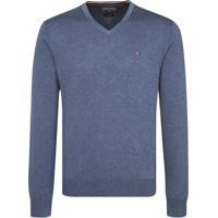 Suéter Masculino Tommy Hilfiger - Masculino-Azul