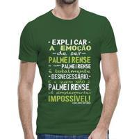 Camiseta Palmeiras A Emoção De Ser Palmeirense Masculina - Masculino