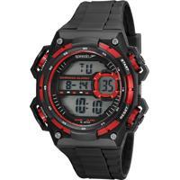 Kit De Relógio Digital Speedo Masculino + Carregador Portátil - 81198G0Evnp1Ka Preto