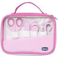 Kit Manicure Bebê Chicco - Happy Hands - Unissex-Rosa