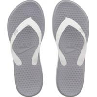 Chinelo Nike Solay Thong - Feminino - Cinza Cla/Branco