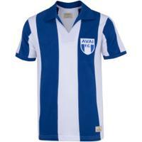 Camiseta Do Avaí 1960 Retrômania - Masculina - Azul/Branco