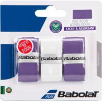 Overgrip Babolat Pro Tour X3 Wimbledon - Masculino