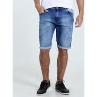 Bermuda Masculina Jeans Slim Marisa