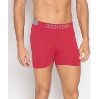 Cueca Boxer Seamless Extreme Sport- Vermelha & Cinzazorba