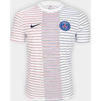 Camisa Paris Saint-Germain Pré Jogo 19/20 S/Nº Nike Masculina - Masculino