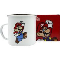 Caneca Ágata Mario Bros 500 Ml