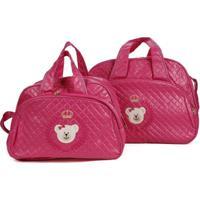 Kit Bolsa Maternidade Rica Baby - Feminino-Pink