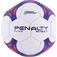 ... Bola De Futsal Penalty Barex 500 R1 C C Viii - Branco Azul 50a79f88fd6b5