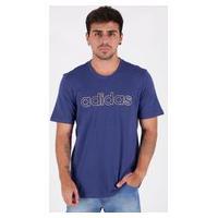Camiseta Adidas Essentials Br Azul
