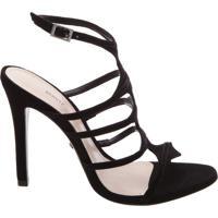Sandália Skin Glam Black | Schutz
