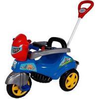 Triciclo Infantil M Patrol Baby City - Unissex-Azul