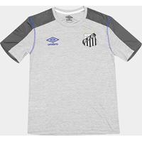 Camisa Santos 2019 Aquecimento Umbro Masculina - Masculino