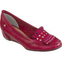 Sapato Feminino Cravo Canela Napa Soft Maça * Nobuck Cc Maça - 86437-5