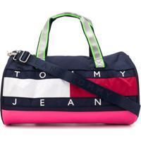 Tommy Jeans Bolsa Color Block - Azul