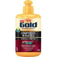 Creme De Pentear Niely Gold Compridos + Fortes 280G - Unissex