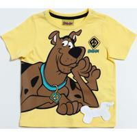 Camiseta Infantil Estampa Scooby Doo