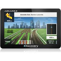Gps Automotivo Discovery Channel Tela De 4.3 Slim Touch Screen