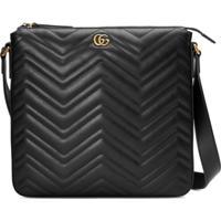 Gucci Messenger Bag Gg Marmont - Preto