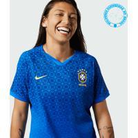 Camisa Nike Brasil Ii 2019/20 Jogadora Feminina
