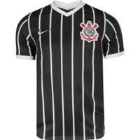 Camisa Do Corinthians Ii 2020 Nike - Masculina - Preto/Branco