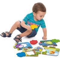 Jogo Educativo - Amiguinhos Da Floresta - 12 Peças - Toyster