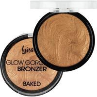Blush Bronze Luisance Glow Gorgeous Bronzeador C Baked Perfeito