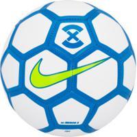 Bola De Futsal Nike Footballx Menor - Branco/Azul