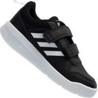 Tênis Adidas Tensaur - Infantil - Preto/Branco