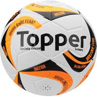 Netshoes  Bola Futebol Society Topper Boleiro - Unissex 7d9675f59822c
